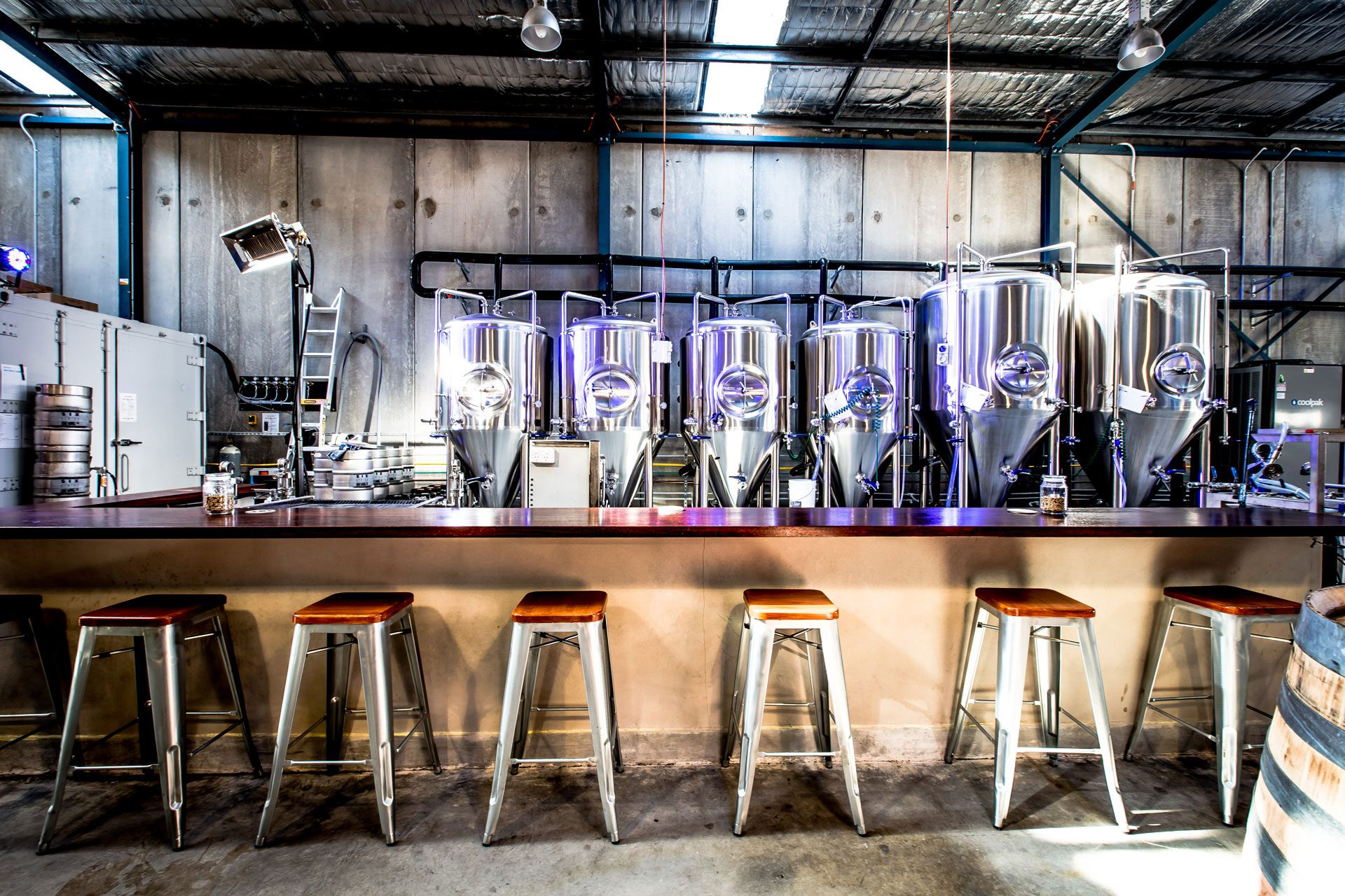Interiors Photographer Central Coast - Six String Brewing Company Erina