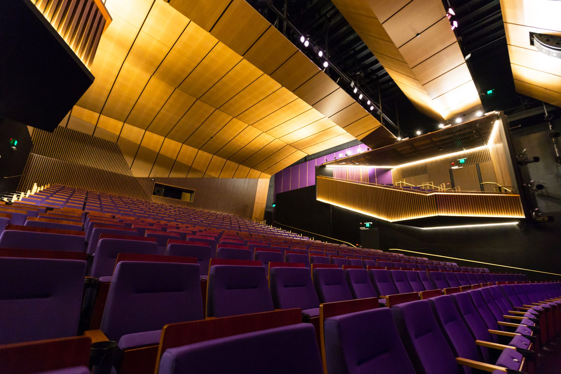 Central Coast Interiors Photographer - Wyong Performing Arts and Conference Centre